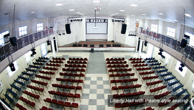 Liberty Multipurpose Hall – Bespoke Center