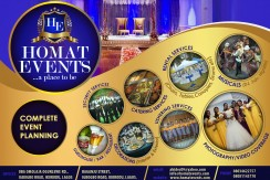 Flier Design HOMAT EVENTS