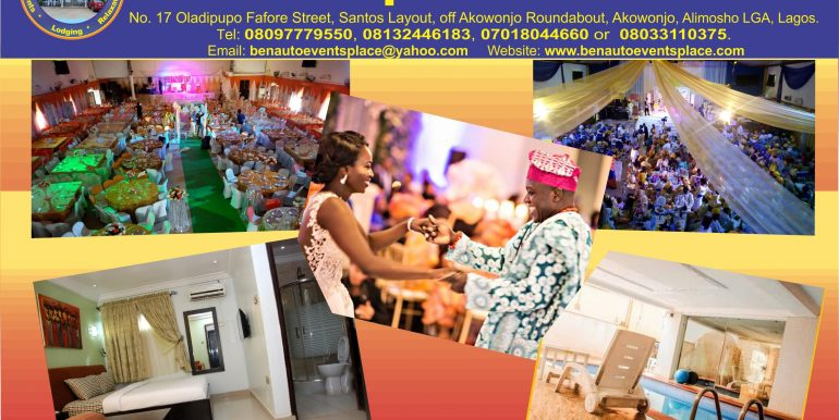 BenAuto Events Place & Hotels Flyer - 2019 Pg3